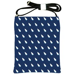 Another Rain Day Water Blue Shoulder Sling Bags