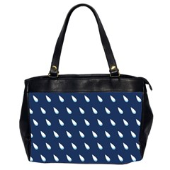 Another Rain Day Water Blue Office Handbags (2 Sides)