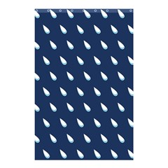 Another Rain Day Water Blue Shower Curtain 48  x 72  (Small)