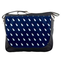 Another Rain Day Water Blue Messenger Bags