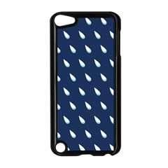 Another Rain Day Water Blue Apple iPod Touch 5 Case (Black)