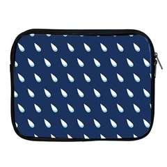 Another Rain Day Water Blue Apple Ipad 2/3/4 Zipper Cases