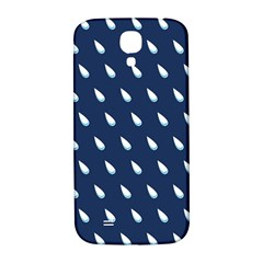 Another Rain Day Water Blue Samsung Galaxy S4 I9500/I9505  Hardshell Back Case