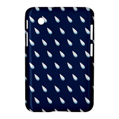 Another Rain Day Water Blue Samsung Galaxy Tab 2 (7 ) P3100 Hardshell Case