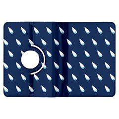 Another Rain Day Water Blue Kindle Fire HDX Flip 360 Case