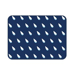 Another Rain Day Water Blue Double Sided Flano Blanket (Mini)