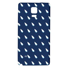 Another Rain Day Water Blue Galaxy Note 4 Back Case