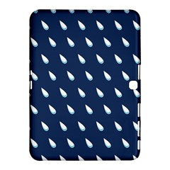 Another Rain Day Water Blue Samsung Galaxy Tab 4 (10.1 ) Hardshell Case