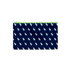 Another Rain Day Water Blue Cosmetic Bag (xs)