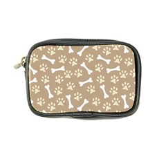 Background Bones Small Footprints Brown Coin Purse
