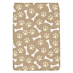 Background Bones Small Footprints Brown Flap Covers (S)