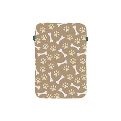 Background Bones Small Footprints Brown Apple iPad Mini Protective Soft Cases