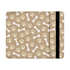 Background Bones Small Footprints Brown Samsung Galaxy Tab Pro 8.4  Flip Case