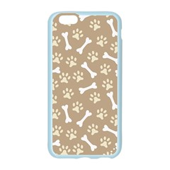 Background Bones Small Footprints Brown Apple Seamless iPhone 6/6S Case (Color)