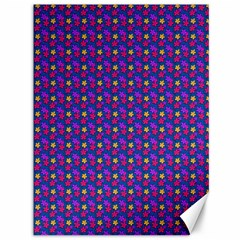 Beach Blue High Quality Seamless Pattern Purple Red Yrllow Flower Floral Canvas 36  x 48