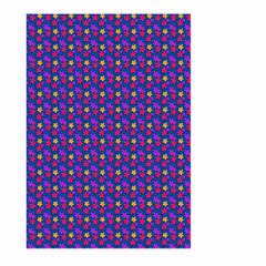 Beach Blue High Quality Seamless Pattern Purple Red Yrllow Flower Floral Large Garden Flag (two Sides)