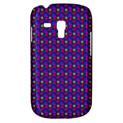 Beach Blue High Quality Seamless Pattern Purple Red Yrllow Flower Floral Galaxy S3 Mini