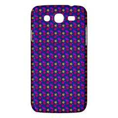 Beach Blue High Quality Seamless Pattern Purple Red Yrllow Flower Floral Samsung Galaxy Mega 5.8 I9152 Hardshell Case