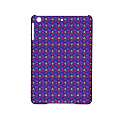 Beach Blue High Quality Seamless Pattern Purple Red Yrllow Flower Floral iPad Mini 2 Hardshell Cases