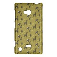 Animals Deer Owl Bird Grey Nokia Lumia 720