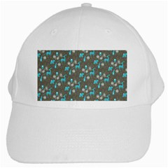 Animals Deer Owl Bird Bear Bird Blue Grey White Cap