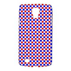 Blue Red Checkered Plaid Galaxy S4 Active