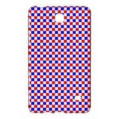 Blue Red Checkered Plaid Samsung Galaxy Tab 4 (8 ) Hardshell Case