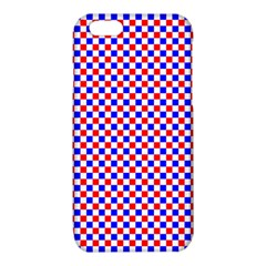 Blue Red Checkered Plaid iPhone 6/6S TPU Case