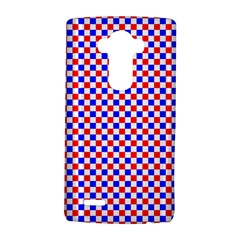 Blue Red Checkered Plaid LG G4 Hardshell Case