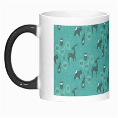 Animals Deer Owl Bird Grey Bear Blue Morph Mugs