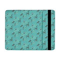 Animals Deer Owl Bird Grey Bear Blue Samsung Galaxy Tab Pro 8.4  Flip Case