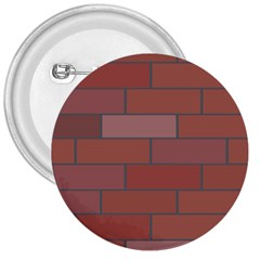 Brick Stone Brown 3  Buttons