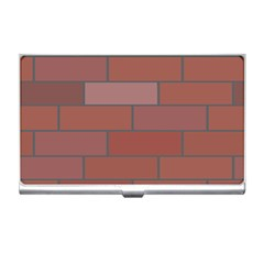 Brick Stone Brown Business Card Holders