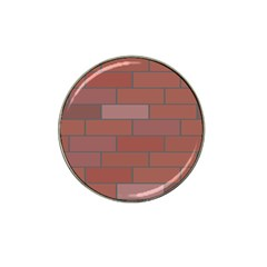 Brick Stone Brown Hat Clip Ball Marker (10 pack)