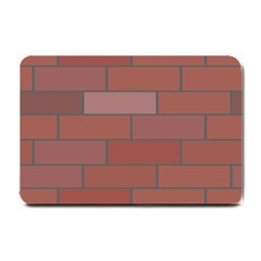 Brick Stone Brown Small Doormat