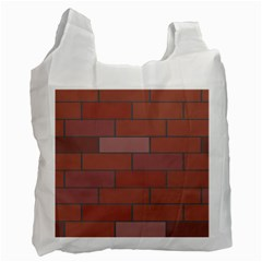 Brick Stone Brown Recycle Bag (One Side)