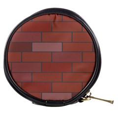 Brick Stone Brown Mini Makeup Bags
