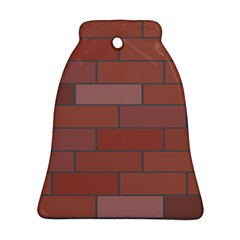 Brick Stone Brown Ornament (Bell)
