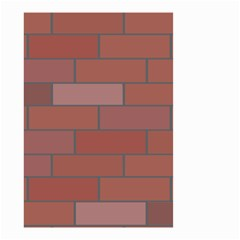 Brick Stone Brown Small Garden Flag (Two Sides)