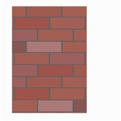 Brick Stone Brown Large Garden Flag (Two Sides)