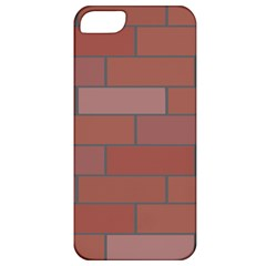 Brick Stone Brown Apple iPhone 5 Classic Hardshell Case