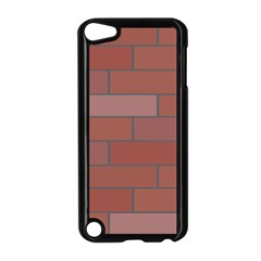 Brick Stone Brown Apple iPod Touch 5 Case (Black)