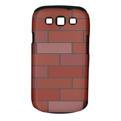 Brick Stone Brown Samsung Galaxy S III Classic Hardshell Case (PC+Silicone)