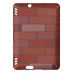 Brick Stone Brown Kindle Fire HDX Hardshell Case