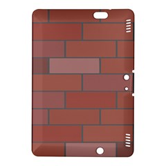 Brick Stone Brown Kindle Fire HDX 8.9  Hardshell Case