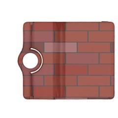 Brick Stone Brown Kindle Fire HDX 8.9  Flip 360 Case