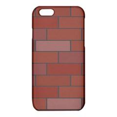 Brick Stone Brown iPhone 6/6S TPU Case