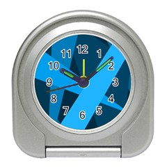 Blue Flag Travel Alarm Clocks