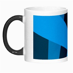 Blue Flag Morph Mugs