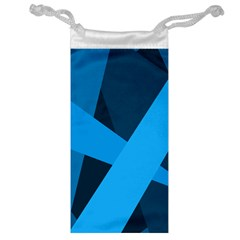 Blue Flag Jewelry Bag